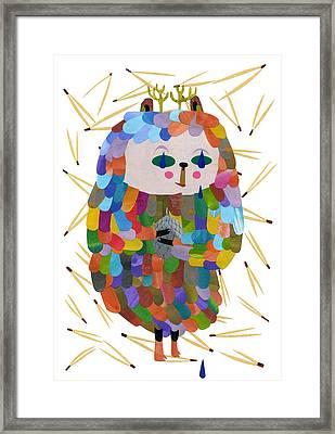 Forest Secret Framed Print by Anne Vasko