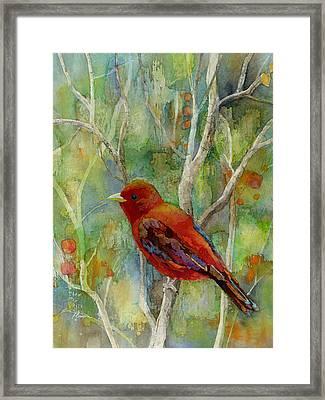 Forest Serenity Framed Print by Hailey E Herrera