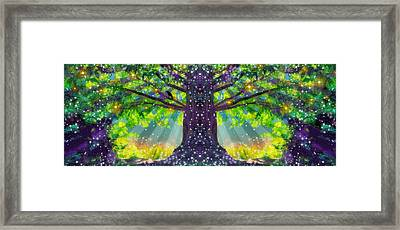 Forest Vision Framed Print by D Walton