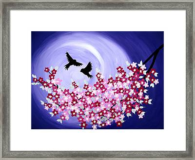 Forever Framed Print by Cathy Jacobs