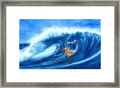 Forever Lasting Ride Framed Print by John YATO