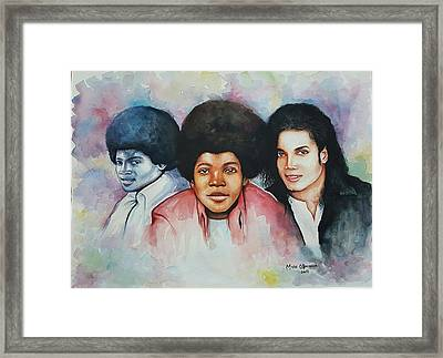 'forever Mj' Framed Print by Okpeyowa Moses   Marquis
