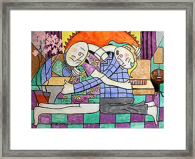 Forgiveness Framed Print by Anthony Falbo