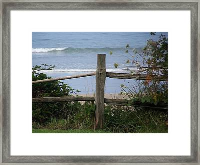 Forgotten Getaway Framed Print by Angi Parks