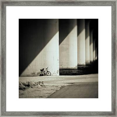 Forgotten Framed Print by Mario Celzner