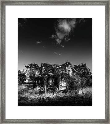 Forgotten Memories Framed Print by Marvin Spates