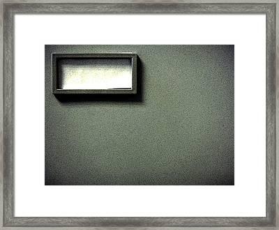 Forgotten Memories Framed Print by Roberto Alamino
