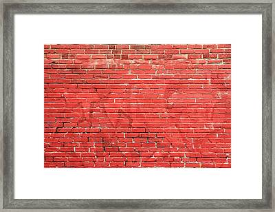 Forgotten Message Framed Print by Kreddible Trout