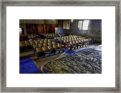 Forgotten Oklahoma School Framed Print by David Longstreath