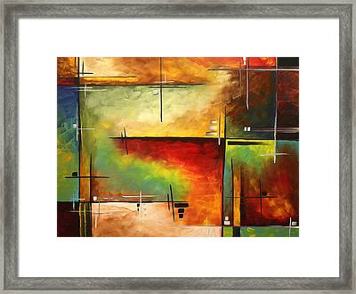 Forgotten Promise By Madart Framed Print by Megan Duncanson