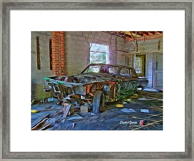 Forgotten Framed Print by Stephen Younts