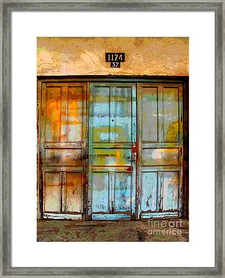 Forgotten Trio 1 By Darian Day Framed Print by Mexicolors Art Photography