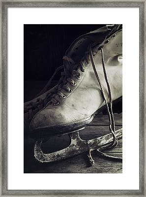Forgotten Winter Framed Print by Amy Weiss