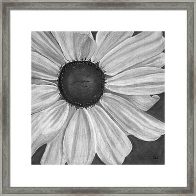 Formal Bloom Framed Print by Christina Steward