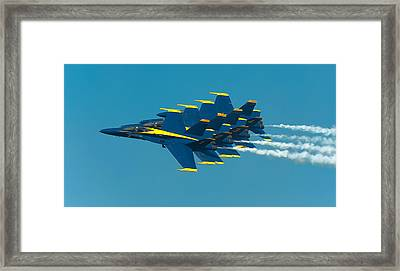 Formation Framed Print by Sebastian Musial
