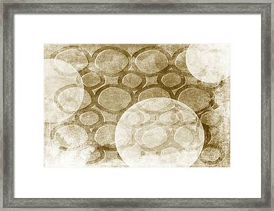 Formed In Fall Framed Print by Angelina Vick