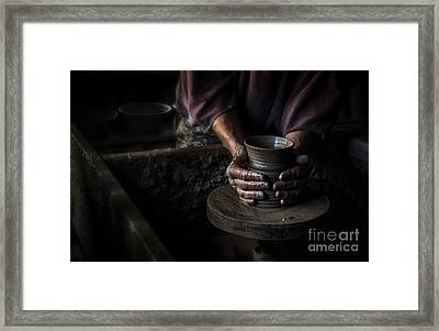 Formed With Love Framed Print by Scott Thorp