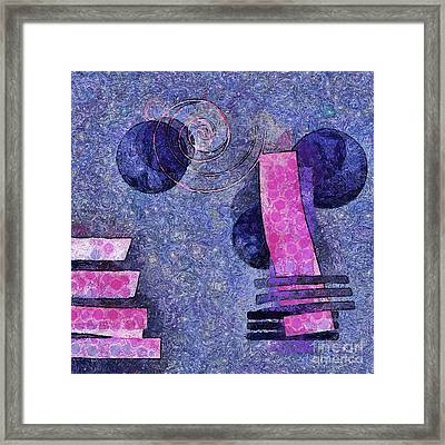 Formes - 18a Framed Print by Variance Collections