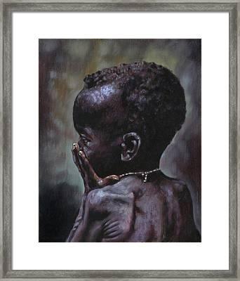 Forsaken Framed Print by John Lautermilch