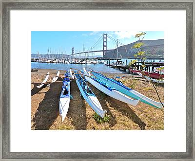 Fort Baker California Framed Print by K L Kingston
