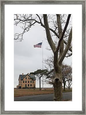 Fort Hancock Framed Print by Erin Cadigan