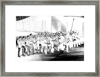 Fort Henry Fife And Drum Framed Print by Paul Wash