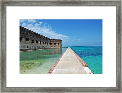 Fort Jefferson Dry Tortugas Framed Print by Susanne Van Hulst