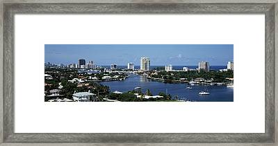 Fort Lauderdale, Florida, Usa Framed Print by Panoramic Images