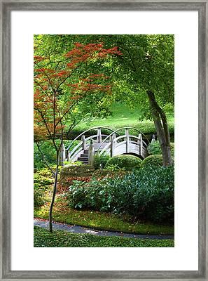 Fort Worth Botanic Garden Framed Print by Joan Carroll