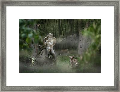 Fortbidden Path Framed Print by Marc Huebner