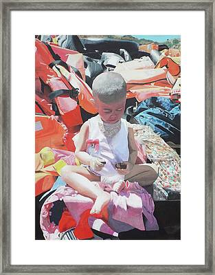 #fortresseurope Framed Print by Eric Kempson