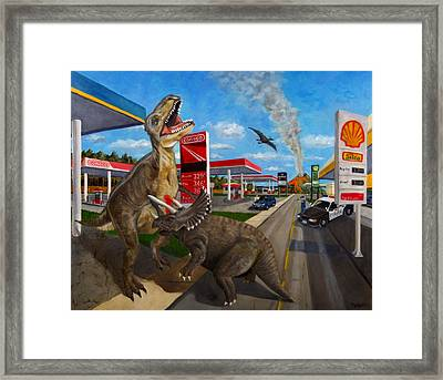 Fossil Fuel Framed Print by Thomas Weeks