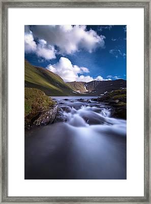 Fossvatnet Framed Print by Tor-Ivar Naess