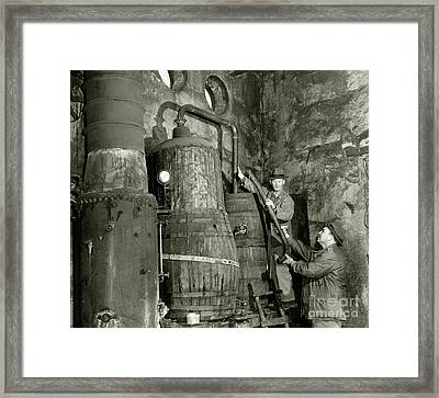 Dismantling The Still Framed Print by Jon Neidert