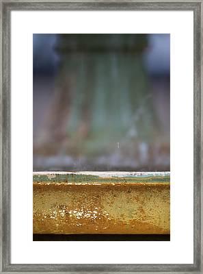 Fountain Framed Print by Dustin K Ryan