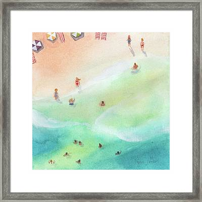 Fountain Of Youth Framed Print by Stephie Jones