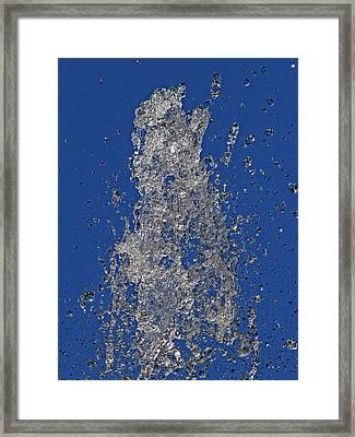 Fountain Framed Print by Robert Ullmann
