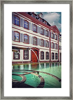 Fountains Of Basel Switzerland Framed Print by Carol Japp