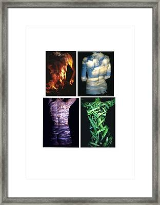 Four Elements Framed Print by Arla Patch