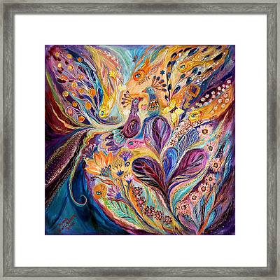 Four Elements IIi. Air Framed Print by Elena Kotliarker
