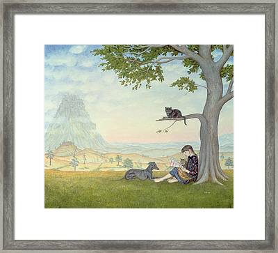 Four Friends Framed Print by Ditz