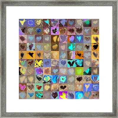 Four Hundred Series  Framed Print by Boy Sees Hearts