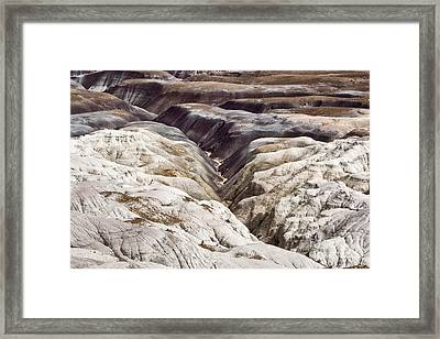 Four Million Geologic Years Framed Print by Melany Sarafis