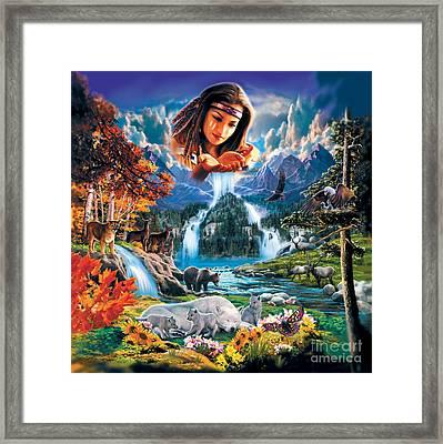 Four Seasons Framed Print by Robin Koni