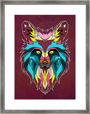 fox Framed Print by Mark Ashkenazi