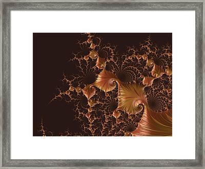 Fractal Alchemy Framed Print by Susan Maxwell Schmidt