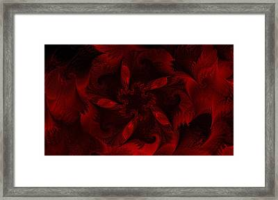 Fractal Garden 18 Framed Print by David Lane