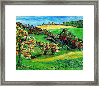 Francais Campagne Framed Print by Everett Spruill