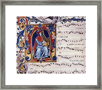 Francesco Landini Framed Print by Granger