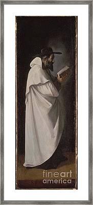 Francisco De Zurbaran Framed Print by Saint Peter